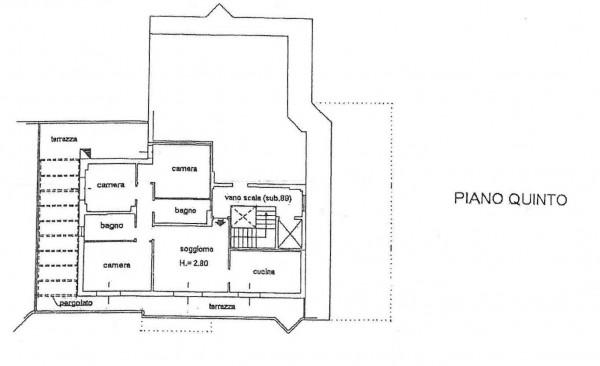 Appartamento in vendita a Bologna, Mazzini, 110 mq