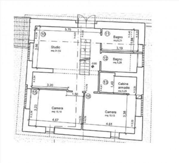 Villa in vendita a Siena, Con giardino, 250 mq - Foto 23
