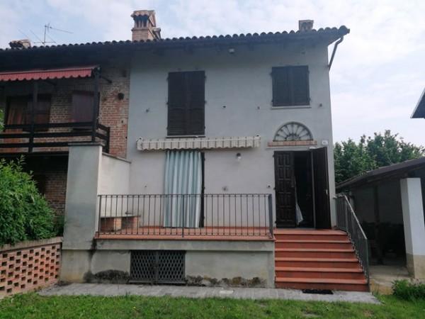 Casa indipendente in vendita a San Martino Alfieri, Saracchi, Con giardino, 154 mq
