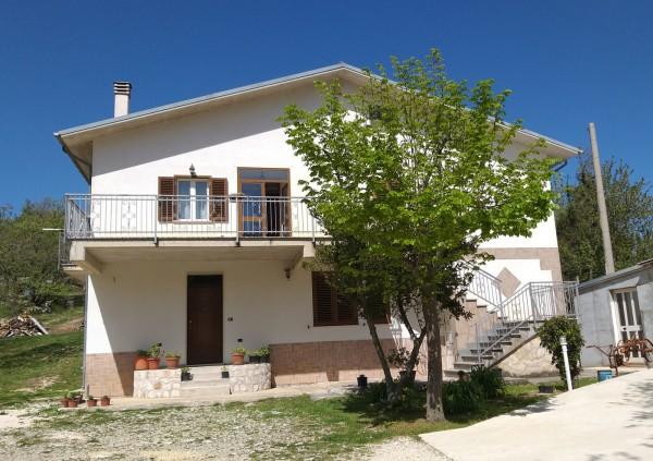 Villa in vendita a Caramanico Terme, San Nicolao, Con giardino, 240 mq
