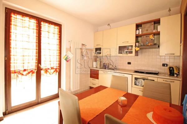 Villetta a schiera in vendita a Cassano d'Adda, Groppello, Con giardino, 152 mq - Foto 17