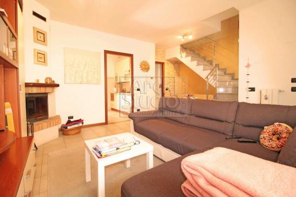 Villetta a schiera in vendita a Cassano d'Adda, Groppello, Con giardino, 152 mq - Foto 20