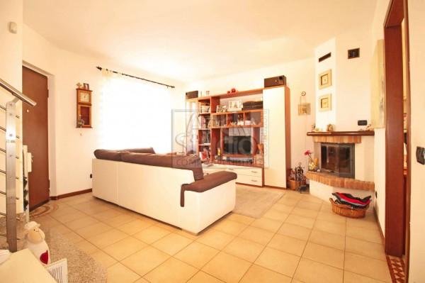 Villetta a schiera in vendita a Cassano d'Adda, Groppello, Con giardino, 152 mq - Foto 19