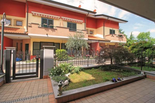Villetta a schiera in vendita a Cassano d'Adda, Groppello, Con giardino, 152 mq - Foto 16