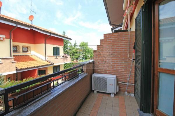 Villetta a schiera in vendita a Cassano d'Adda, Groppello, Con giardino, 152 mq - Foto 10