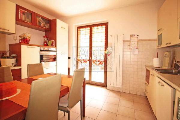 Villetta a schiera in vendita a Cassano d'Adda, Groppello, Con giardino, 152 mq - Foto 18