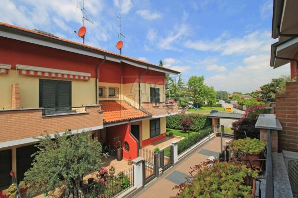 Villetta a schiera in vendita a Cassano d'Adda, Groppello, Con giardino, 152 mq - Foto 4