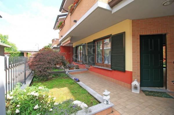 Villetta a schiera in vendita a Cassano d'Adda, Groppello, Con giardino, 152 mq - Foto 21