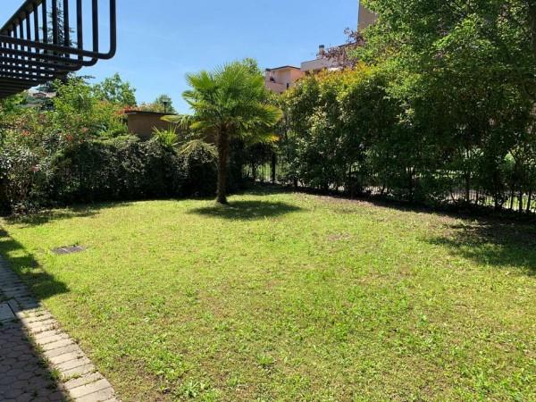 Villa in vendita a Rozzano, Residenza Pascoli, Con giardino, 170 mq - Foto 9