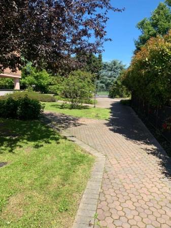 Villa in vendita a Rozzano, Residenza Pascoli, Con giardino, 170 mq - Foto 37