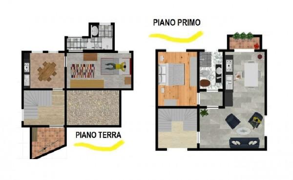 Appartamento in vendita a Induno Olona, Con giardino, 143 mq - Foto 5