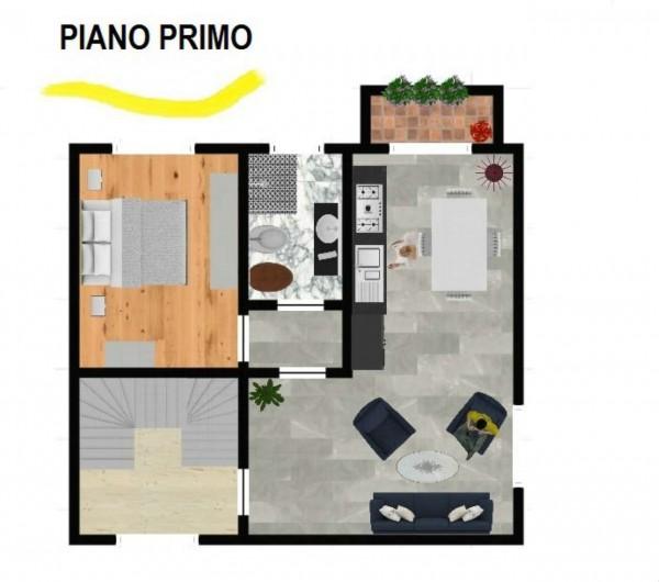 Appartamento in vendita a Induno Olona, Con giardino, 143 mq - Foto 3