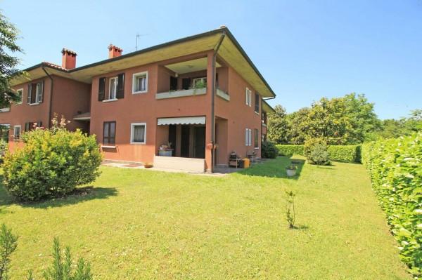 Appartamento in vendita a Inzago, Naviglio, Con giardino, 118 mq