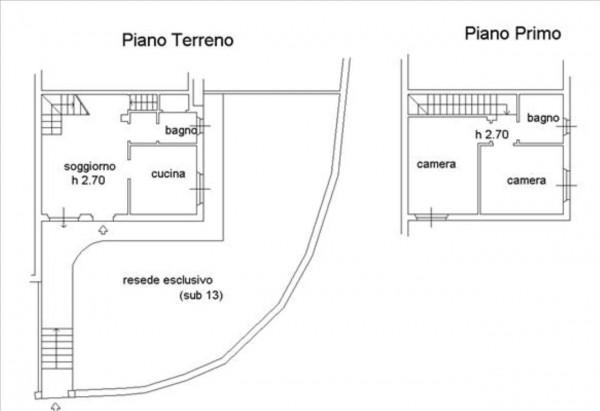 Appartamento in vendita a Murlo, Con giardino, 87 mq - Foto 16