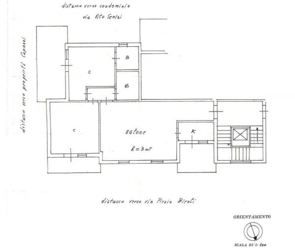Appartamento in affitto a Roma, Cassia, San Godenzo, Grottarossa, Con giardino, 110 mq - Foto 2