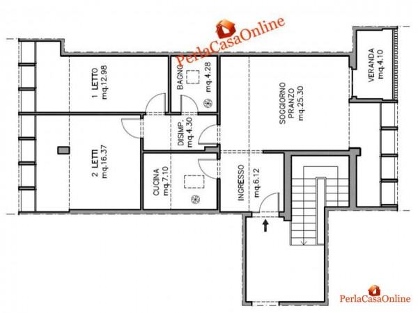 Appartamento in vendita a Forlì, Medaglie D'oro, Con giardino, 100 mq - Foto 3