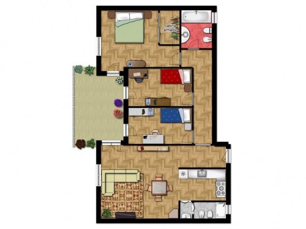 Appartamento in vendita a Lecce, Centro, 153 mq