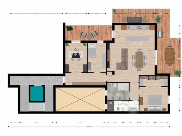 Appartamento in vendita a Lecce, Centro, 186 mq
