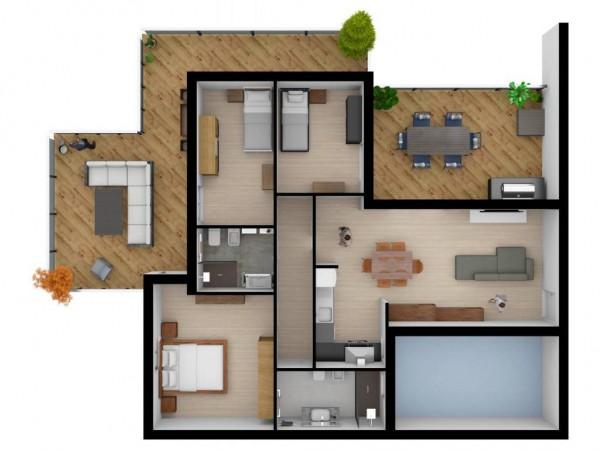 Appartamento in vendita a Lecce, Centro, 276 mq - Foto 2