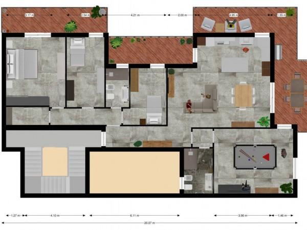 Appartamento in vendita a Lecce, Centro, 276 mq