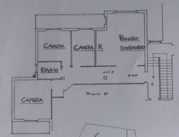 Appartamento in vendita a Castelnuovo Berardenga, 111 mq - Foto 12