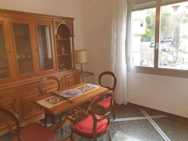 Appartamento in affitto a Genova, Adiacenze Monoblocco San Martino, Arredato, 65 mq