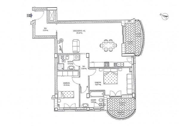 Appartamento in vendita a Ciampino, Morena, 100 mq