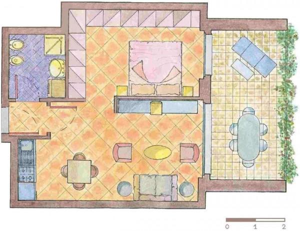 Appartamento in vendita a Busto Arsizio, Madre Teresa Di Calcutta, Con giardino, 57 mq - Foto 4