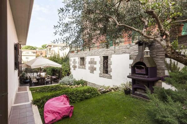 Villa in vendita a Roma, Pisana, Con giardino, 130 mq