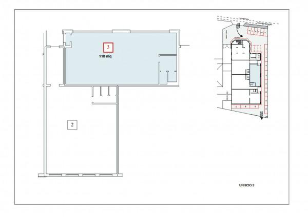 Ufficio in affitto a Madignano, Centro, 115 mq - Foto 3