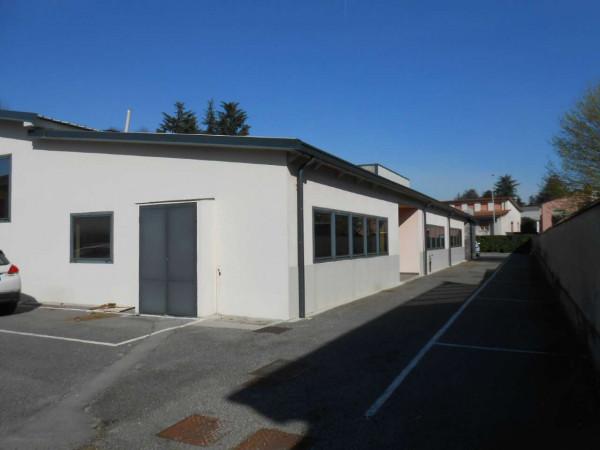 Ufficio in affitto a Madignano, Centro, 137 mq - Foto 24