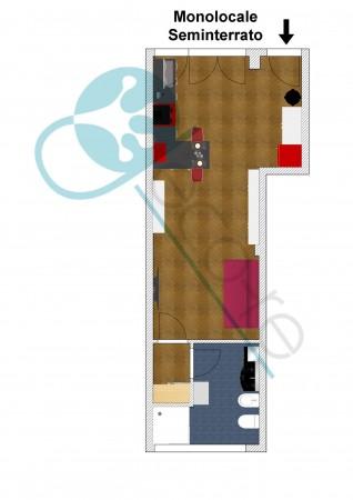 Appartamento in vendita a Milano, Metro Primaticcio, 40 mq