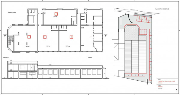 Ufficio in vendita a Madignano, Centro, 750 mq - Foto 2