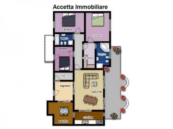 Appartamento in affitto a Taranto, Residenziale, Con giardino, 140 mq - Foto 2