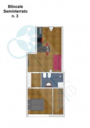 Appartamento in vendita a Milano, Metro Primaticcio, 50 mq