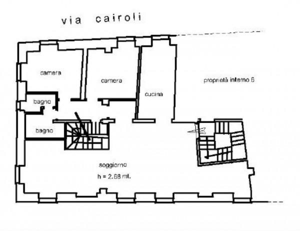 Appartamento in vendita a Rapallo, Lungomare, 250 mq - Foto 2
