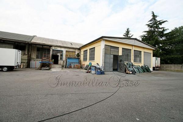 Capannone in affitto a Rozzano, Valleambrosia, Con giardino, 250 mq - Foto 3
