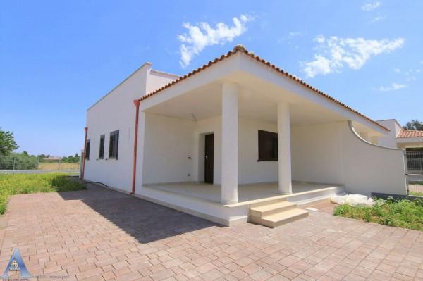 Villa in vendita a Leporano, Gandoli, Con giardino, 92 mq - Foto 8