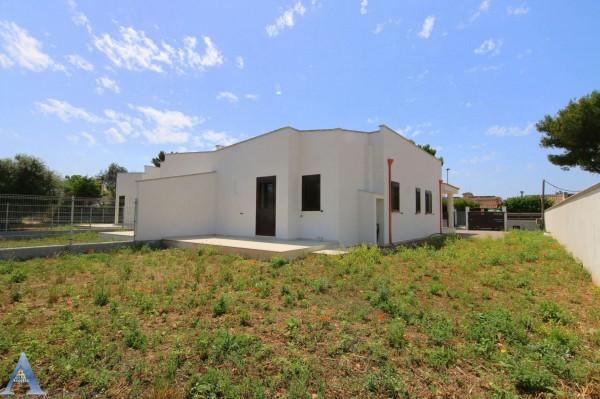 Villa in vendita a Leporano, Gandoli, Con giardino, 92 mq - Foto 7