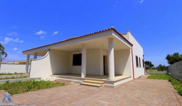Villa in vendita a Leporano, Gandoli, Con giardino, 92 mq - Foto 1