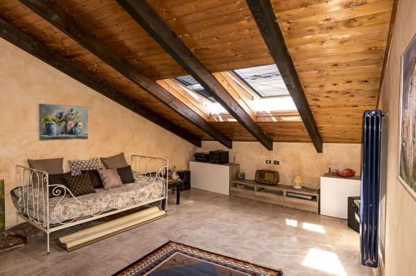 Casa indipendente in vendita a Venaria Reale, Centro Storico, 154 mq - Foto 10