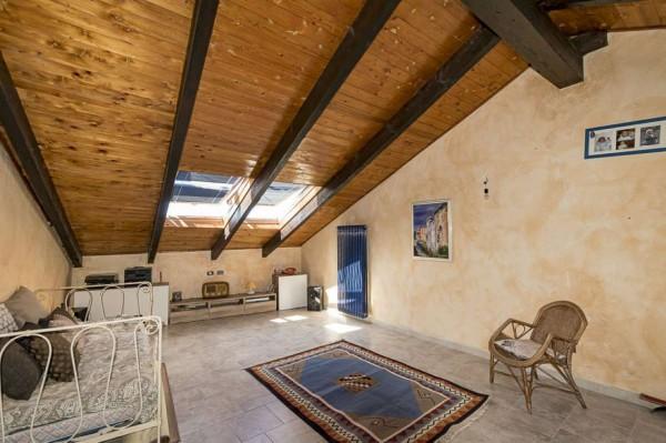 Casa indipendente in vendita a Venaria Reale, Centro Storico, 154 mq - Foto 8