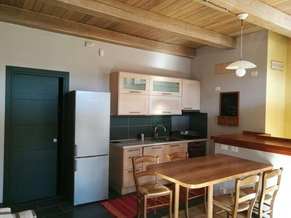 Appartamento in affitto a San Giorgio Canavese, Centro, Arredato, 55 mq