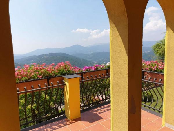 Villa in vendita a Mignanego, Santuario Della Vittoria, Con giardino, 220 mq - Foto 10