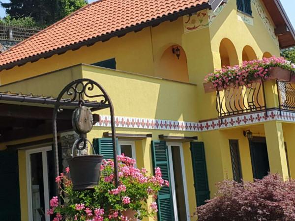 Villa in vendita a Mignanego, Santuario Della Vittoria, Con giardino, 220 mq - Foto 1