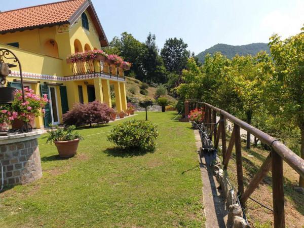Villa in vendita a Mignanego, Santuario Della Vittoria, Con giardino, 220 mq - Foto 5