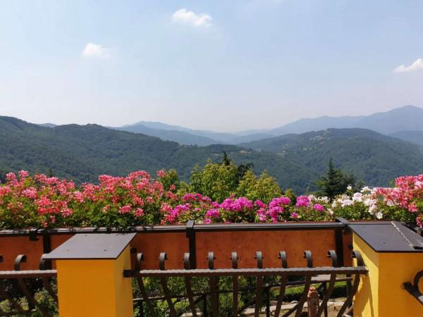 Villa in vendita a Mignanego, Santuario Della Vittoria, Con giardino, 220 mq - Foto 7