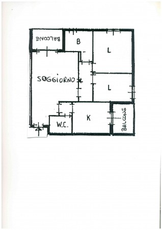 Appartamento in vendita a Senago, Con giardino, 100 mq - Foto 2