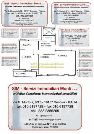 Appartamento in vendita a Genova, Pra Palmaro, 75 mq - Foto 2