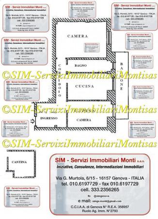 Appartamento in vendita a Genova, Pra, 60 mq - Foto 2